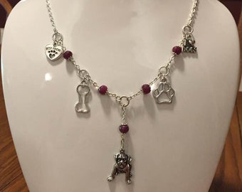 Natural Ruby Necklace, July Birthstone