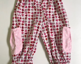 Toddler Girls Ruffle Pants- size 2T
