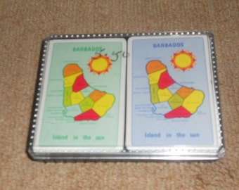 Vintage Barbados-Island in the Sun-Playing Cards-Set
