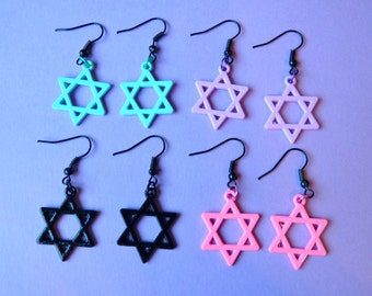 Pastel Star Earrings