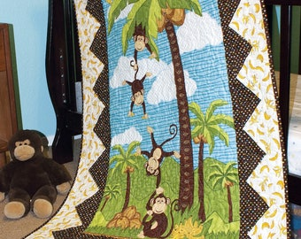 Go Bananas Panel-Friendly Quilt Pattern