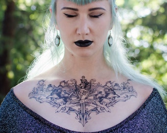Winter is Coming Temporary Tattoo