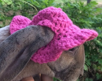 Cute and Stylish Floppy Brim Bunny Sun Hat for Your Rabbit