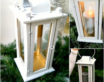 Candle Lantern, Table Lantern/ Wedding/Centerpeice/Vintage Country Style/fireplace/Home Decor/lantern/Candle holder/Decor Accents