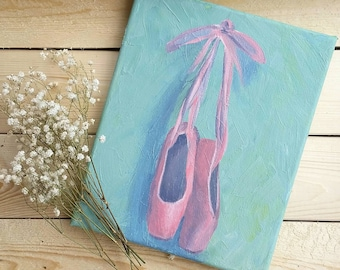 Dancing Shoes Giclee Art Print of an 8x10 Acrylic Painting