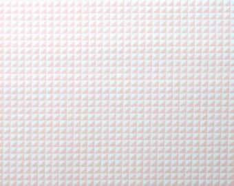 Waffle Pink: Monaluna Organics - Havana Collection 1/2 Yard Cut