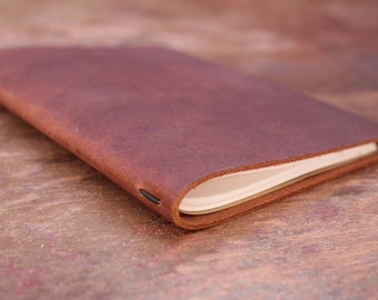 Refillable Leather Journal- Pascale II