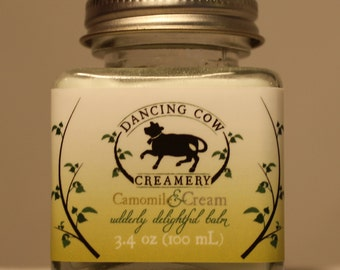 Camomile and cream balm