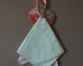 Vintage handkerchief angel