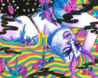 Rainbow Dreaming PRINT