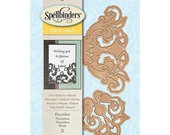 Mothers Day Special: Spellbinders Shapeabilities Die D-Lites - Flourishes  S2-247