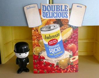 Vintage Advertising - Ambrosia Rice Sign