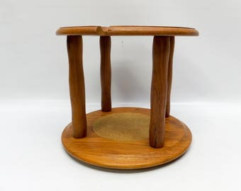 Vintage pipe stand - for 4 pipes