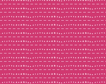 CLEARANCE*** Les Points Rose - knit -Cherie from Art Gallery Fabrics
