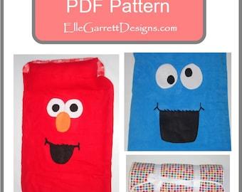 PDF Pattern - Monster Nap Mat Pattern