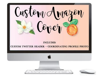 Custom Amazon Handmade Banner Set - Amazon Shop Banner - Amazon Page Design - Custom Amazon Set - Made To Match - Social Media Banners