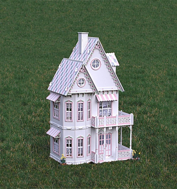 Mini Gingerbread House Diy: Deluxe Victorian Gingerbread Dollhouse Kit Doll House Kit