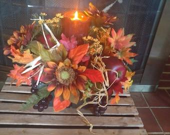 Fall Harvest Floral Arrangement