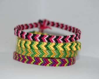 Small Chevron Friendship Bracelet