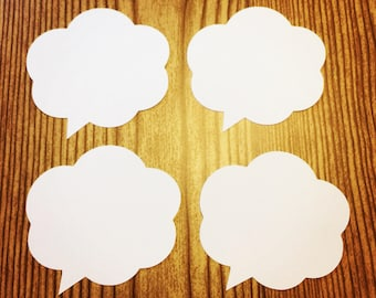 Speech Bubble (Various Sizes and Colors Available)