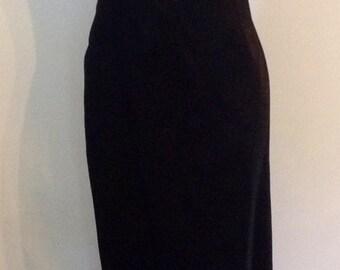 Black Long  Marien St. Claire Formal Gown