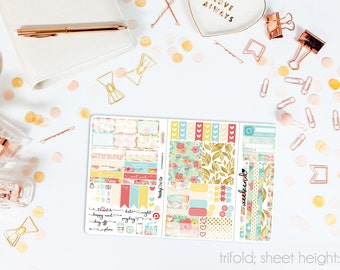 Blossom TN POCKET Weekly Kit // 100+ Matte Planner Stickers // Perfect for your Pocket or Personal Traveler's Notebook // TNP0020