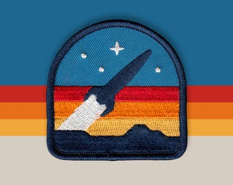 Rocketeer Embroidered Patch
