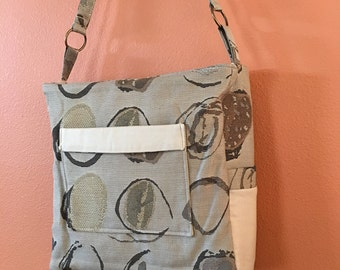 Breezy #1654, Knitting Bag, Knitting Tote, Project Tote, Project Bag, Project Knitting Bag, Yarn Bag, Yarn Tote, Shoulder Bag, Purses, Bags