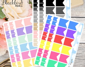 Functional Flag Planner Stickers [BR0003]
