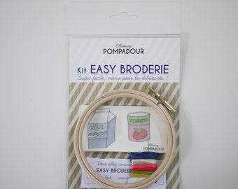 Milk andTomato - Kit EASY BRODERIE