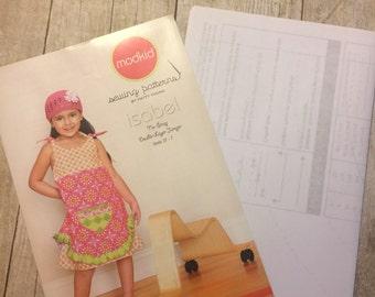 Modkid Isabel Jumper, Paper Sewing Pattern,  New Uncut Sizes 2T-7