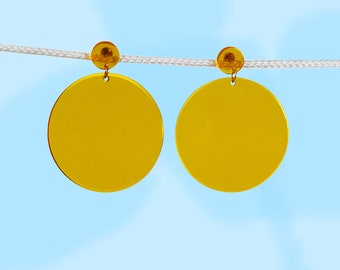 Bright as the Yellow Sun Earrings