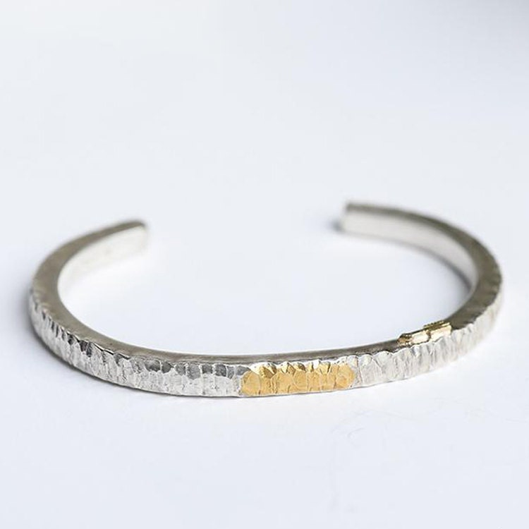 lucylou bangles product bangle silver hammered designs