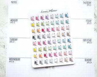 Mini Vacuum (matte planner stickers, perfect for planners)