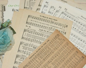 Vintage Music Pages