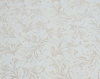 Cynthia-Beige Cotton Fabric by Mary Koval for Windham Fabrics