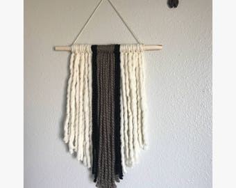 Wool wall hanging/ wool wall decor-western/boho/bohemian