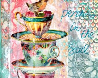 Love Perches in the Soul