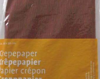 CHOCOLATE CREPE PAPER