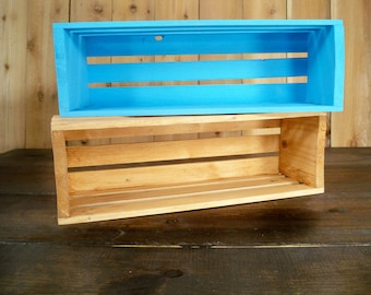 Wood Crate Shelving,Wood Crate Storage, Wall Decor Shelf's,Wall Shelf For Pictures, Storage Crate, Wood Crate Centerpiece,