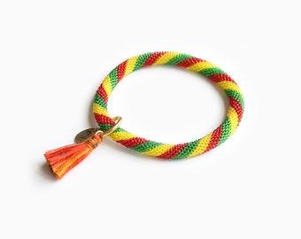 Bliss Colorful Roll on Bracelet