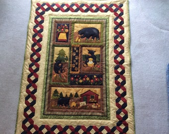 Quilt..Bee my honey bear