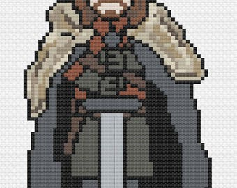 Ned Stark - Game of Thrones Cross Stitch Pattern