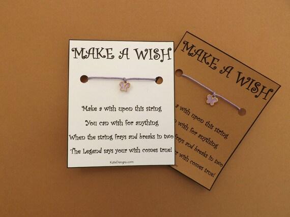 Pink Enamel Butterfly GT Wish Bracelet