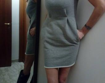 Sheath Dress in Sweatshirt