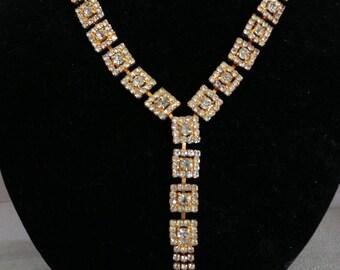 Necklace Stunning Rhinestone