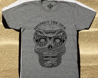 Respect The Sea  organic Tee shirts.