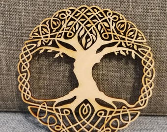 Cheap Shipping 30cm TREE of life wood laser cut Various Sizes Available EXCELLENT QUALITY home decoration hanging
