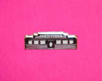 Diner - Hard enamel lapel pin