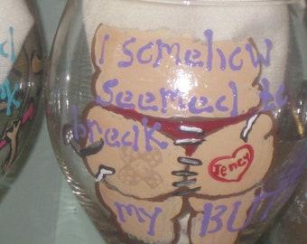 Fitness failures, wine glass